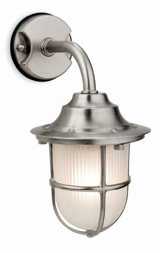 Firstlight 7660NC Nickel with Frosted Glass Nautic Wall Light